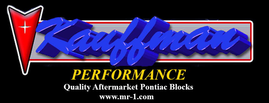 MR-1 Aftermarket Pontiac Block