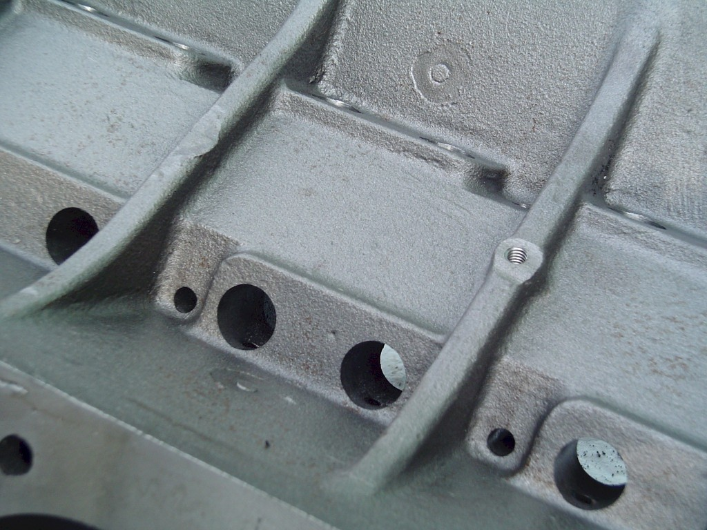 MR-1 Pontiac block lifter galley standard